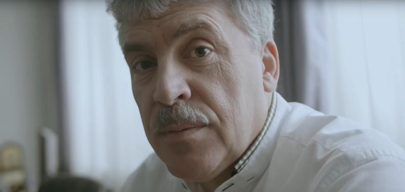 Павел Грудинин с усами
