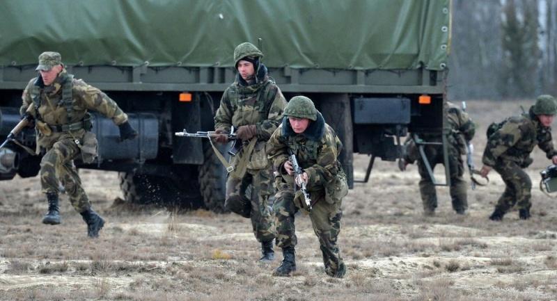 Военные сборы и учения Запад-2017
