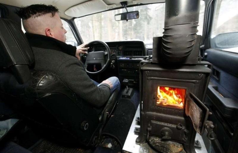 Нормальная печка в автомобиле