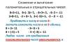 Правила и примеры сложения и вычитания отрицательных чисел